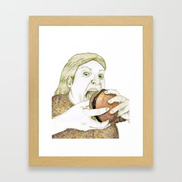 Hamburger Framed Art Print