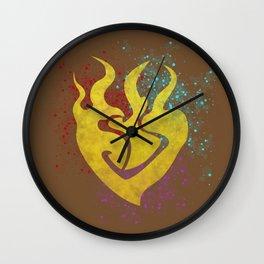 Beauty in Asymmetry Wall Clock