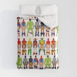 Superhero Butts Comforters