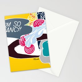I'm so fancy Stationery Cards