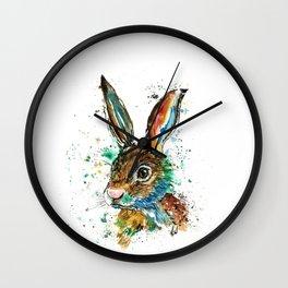 Bunny Rabbit - Real Bunny Wall Clock