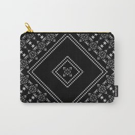 Black Christmas ornament Carry-All Pouch
