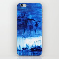 Blue Abstract iPhone & iPod Skin