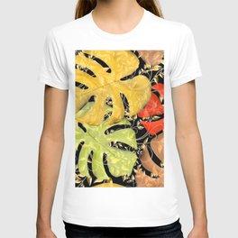 PALM LEAF BOUNTY AUTUMN SPLENDOR T-shirt