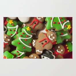 Delicious Christmas Cookies Rug