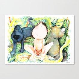 My Jungle BOOK Canvas Print