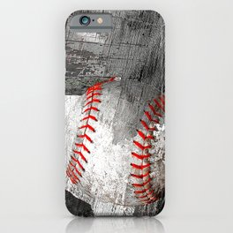 Baseball art vs 13 iPhone Case