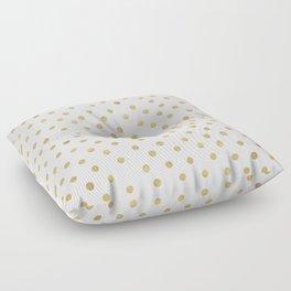Gold Spots Floor Pillow