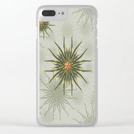 Wild Anemones Clear iPhone Case