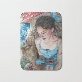 Alice in Wonderland, Portrait of Alice Bath Mat