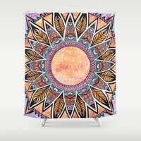 phoenix Shower Curtains featuring Phoenix by Epenski