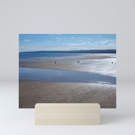 Filey Beach Mini Art Print