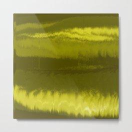 Yellow Fierce Metal Print