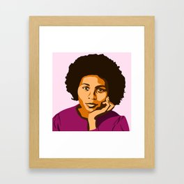 bell hooks Framed Art Print