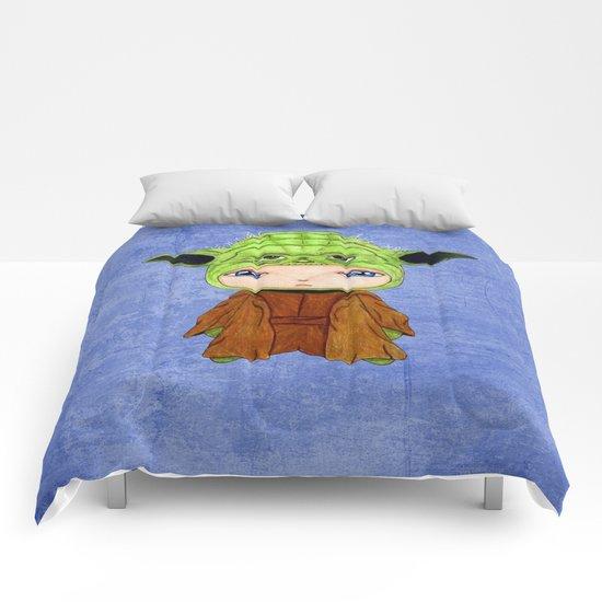 A Boy - Yoda Comforters