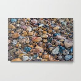 Moana Pebbles Metal Print