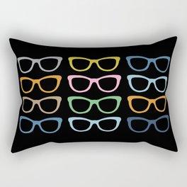 Sunglasses at Night Rectangular Pillow