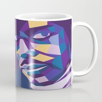 prince Mugs featuring Prince by Liam Brazier