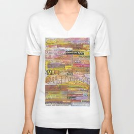 Quilted Conversations Unisex V-Neck
