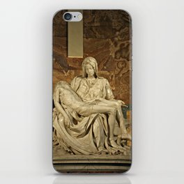 Michelangelo's Pieta in St. Peter's Basilica                                              iPhone Skin