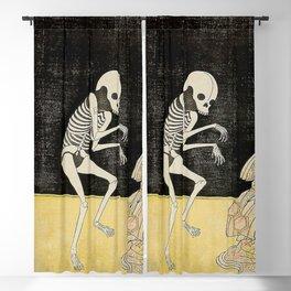 SPIRIT OF THE RENEGADE MONK SEIGEN - KATSUKAWA SHUNSHO Blackout Curtain