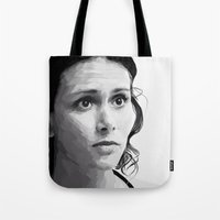 melissa smith Tote Bags featuring melissa ponzio by Finduilas