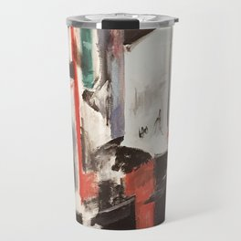 City Painting - New York Travel Mug