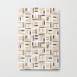 Scandinavian Art Design Metal Print
