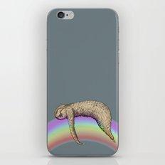 Nap (Sloth & Rainbow 2) iPhone & iPod Skin