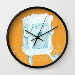 Rub A Dub, D'oh! Wall Clock