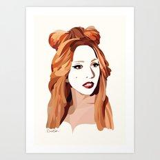 Monster Goddess Art Print