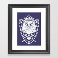 King of the night Framed Art Print