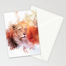 Expressions Lioness Stationery Cards