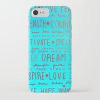 motivation iPhone & iPod Cases featuring Motivation by Eileen A Art