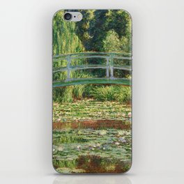 Bridge over a Pond of Water Lilies - Monet iPhone Skin