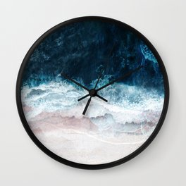 Blue Sea II Wall Clock