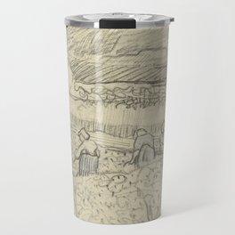 Landscape with Peasant Women Harvesting Travel Mug