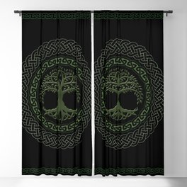 Celtic Tree Of Life Blackout Curtain