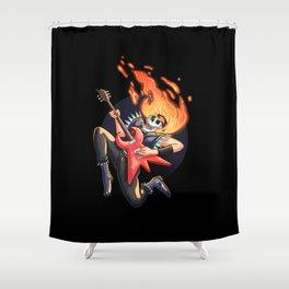 Heavy Metal Shower Curtain