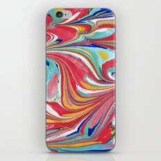 Psychedelic Marbling iPhone & iPod Skin