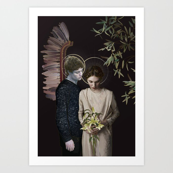 Annunciation (LE, 10 of 10 prints left) Art Print