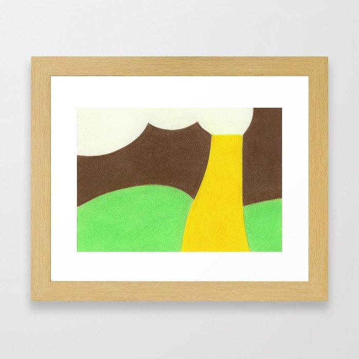 Ford Pistache Framed Art Print