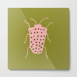 arthropod green I Metal Print