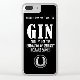 Gin The Eradication of Sadness Clear iPhone Case