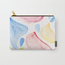 4   | 200131 | Organic Shapes Design | Watercolor Art | Minimalist Art Carry-All Pouch