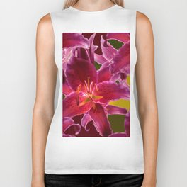 Beautiful Flowers on Fall Colors #decor #society6 #buyart Biker Tank