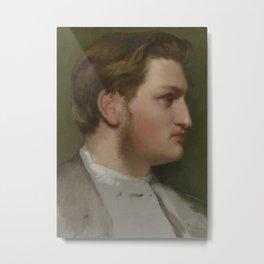 Portrait of Paul Valpinçon Metal Print