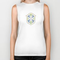 brazil Biker Tanks featuring Brazil Crest by George Williams