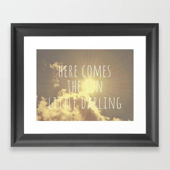 Little Darling  Framed Art Print