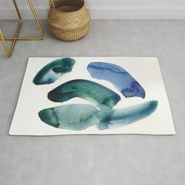 6    | 190816 | Surrender | Abstract Watercolour Painting Rug